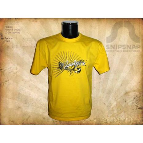 Pánské tričko SnipSnap - žluté